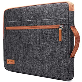 KIZUNA Laptop Tablet Sleeve 10 Inch Water-Resistant Computer Case Hand Bag for 9.7  10.5  11  iPad Pro/Apple 10.2  iPad/10 Surface Go 2/10.5  Samsung Galaxy Tab/10.8  Huawei MediaPad M5 Pro,Brown