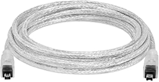 Cmple - 10FT FireWire Cable 4 Pin to 4 Pin Male to Male iLink DV Cable Firewire 400 IEEE 1394 Cord for Computer Laptop