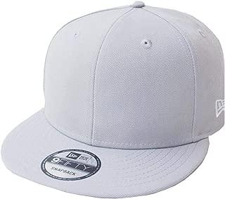 Light Grey Blank Snapback Cap Blanko 9fifty 950 Basecap Mens OSFA