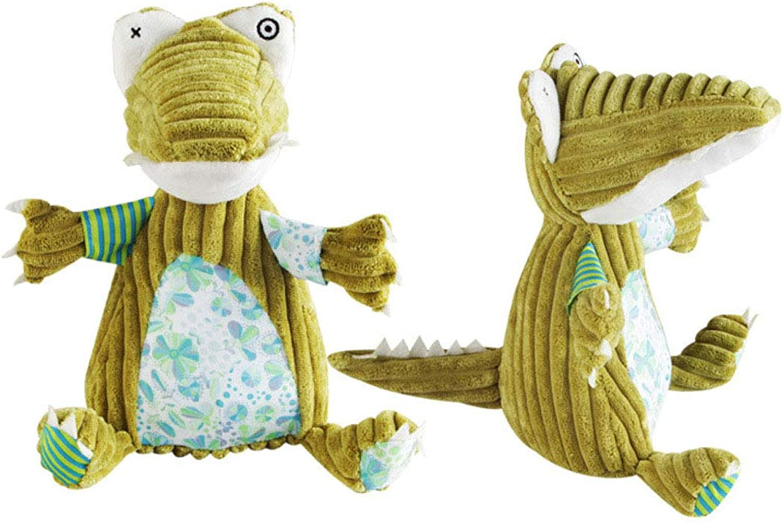 Kirabon Series Pet Stuffed Toys BiteResistant Molar Teeth Cat and Dog Dolls. (color   Green)