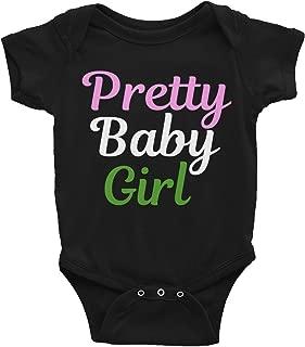 Alpha Kappa Alpha Pretty Baby Girl Infant Onesie