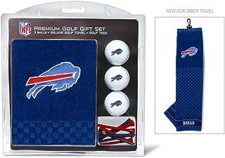 Team Golf NFL Gift Set Embroidered Golf Towel, 3 Golf Balls, and 14 Golf Tees 2-3/4