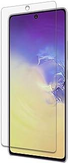 لهاتف سامسونج جالاكسي اس 10 لايت اسكرين زجاج مرن بتكنولوجيا النانو ضد الكسر بسمك 0.42 ملي - شفاف