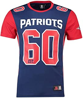 Majestic NFL New England Patriots Portmer Poly Mesh Hombre Azul