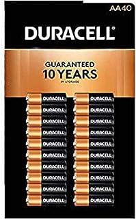 良いおすすめDuracell MN1500Duralockカッパートップアルカリ単三電池-40パックと2021のレビュー
