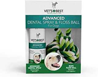Vet's Best  Spray Dental Avanzado Y Bola para Perros - 14Ml