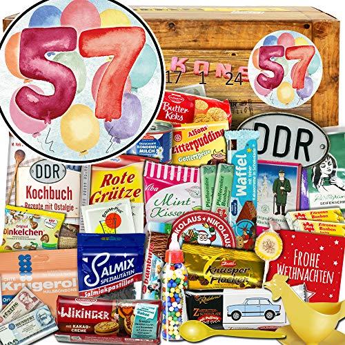 57 Geschenk zum Jubiläum - Advent Kalender DDR - Adventskalender für Bruder