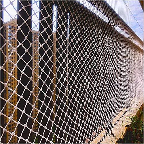 MuMa Cuerda De Seguridad para Niños Net, Mascotas Protección Red, Balcón Ventana Escalera Anticaída Valla, Escalada Al Aire Libre Red Protectora, Transporte Remolque Red Net(Size:1×8m(3×26ft))