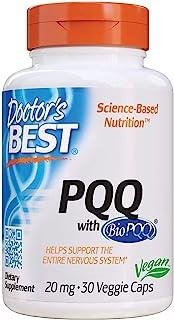 Doctor's Best PQQ with BioPQQ, 20mg, Veggie Caps, 30ct
