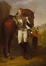 Berkin Arts Antoine Jean Gros Giclee Canvas Print Paintings Poster Reproduction(Baron Antoine Jean Gros Portrait of Second Lieutenant Charles Legrand) #XFB