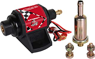 CarBole 42S Electric Gasoline Fuel Pump Universal 5/16 inch Inlet and Outlet 12V 1-2A 28GPH 2-3.5 PSI Operating Fuel Pressure 2-wire Design