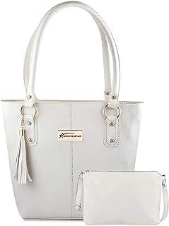 Shining Star Women's Handbag with Sling Bag (Set of 2)