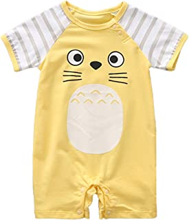 4d555a4b843 stylesilove Adorable Unisex Baby Totoro Short Sleeve Cotton Romper