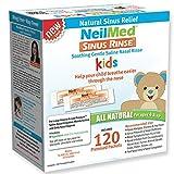 NeilMed's Sinus Rinse Pre-Mixed Pediatric Packets,...