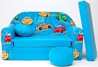 B11-B Childrens sofa Baby sofa mini couch sofa bed pouffe pillow Set foam