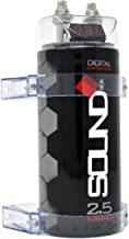 SoundBox 2.5 Farad Digital Capacitor - 2500 Watts Peak