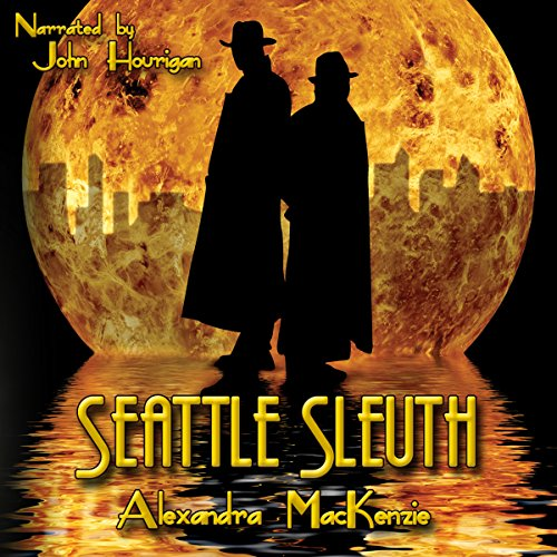 Seattle Sleuth audiobook cover art
