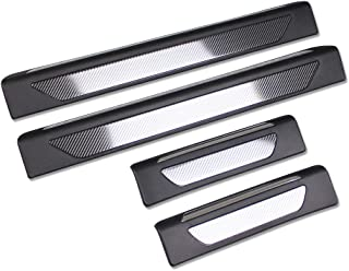 Beautost Fit for Porsche Macan 2014 2015 2016 2017 2018 2019 Door Sill Scuff Plate Guard Cover Trims Stainless Steel