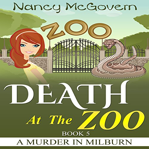 Death at the Zoo audiobook cover art