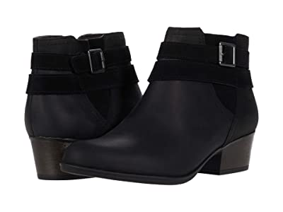 Clarks Bell Show (Black Leather) Women