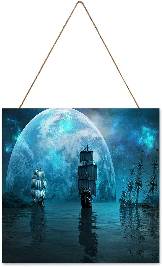 Wall Art Limited time sale SEAL limited product Decor Painting Pirate Sailing Ship Ancient Sh