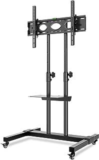 RFIVER Uniwersalny wysoki stojak pod telewizor na kółkach,