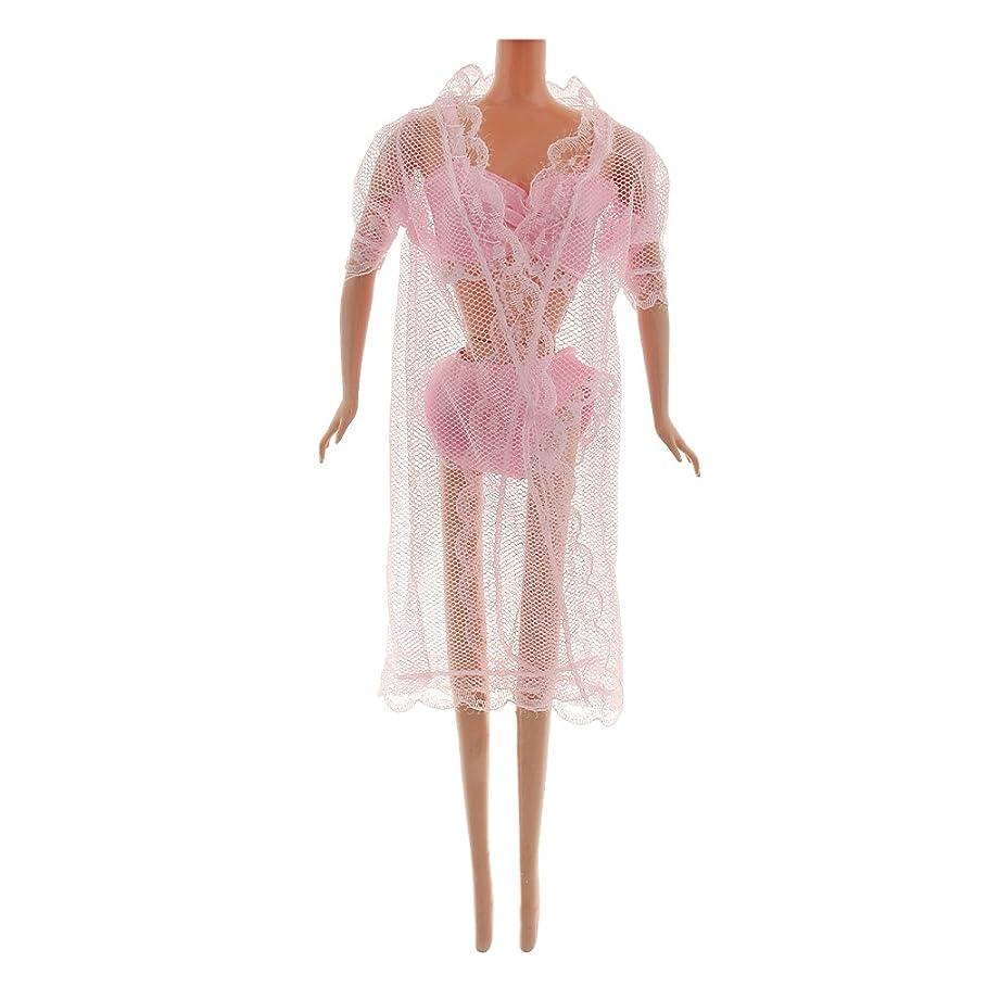 アナニバー学習者信じられない人形服 レース パジャマ 装飾 アクセサリー 贈り物 ピンク