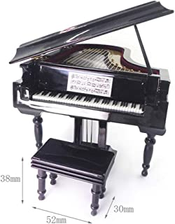 NATFUR 1:12 Musical Piano in Case Music Instrument Dollhouse Music Accs