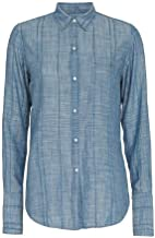 Nili Lotan Women's Denim Chambray Cotton Shirt