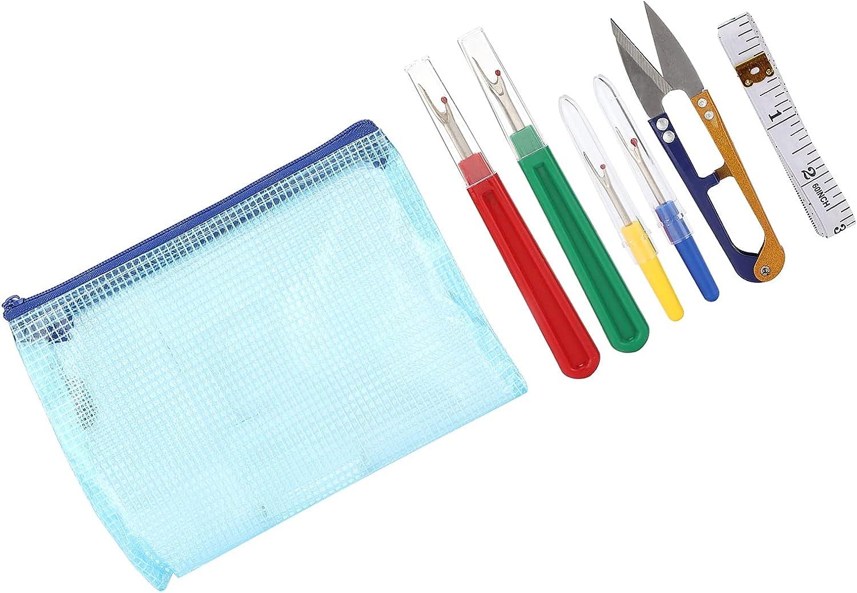 Seam Ripper Unpicker Kit, Non-Slip Thread Cutter Remover for Qui