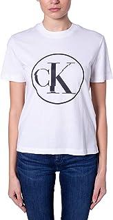 Calvin Klein Women's CIRCLE CK TEE T-Shirt