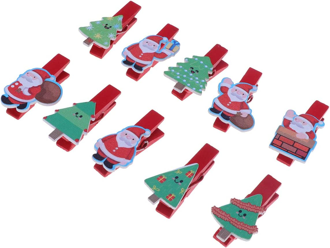 FUNZZY Christmas Clips Cartoon Pic Max 42% OFF Santa Cheap SALE Start Tree Painting