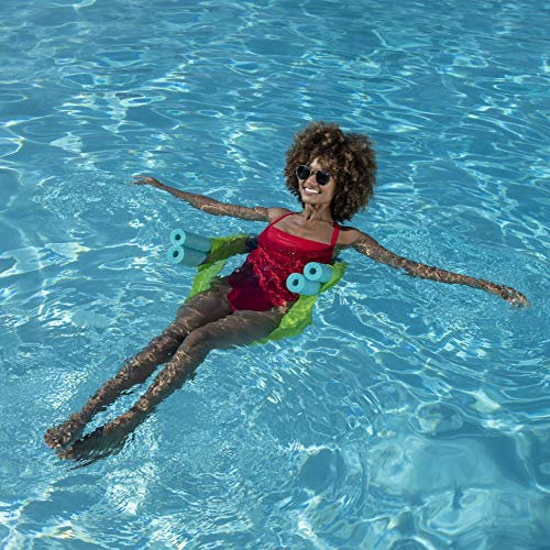 SwimWays Noodle Sling Floating Pool Chair For Adults color may vary