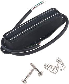 Musiclily Single Coil Size Dual Hot Rail Blaster Humbucker Bridge Neck Pickups for Fender Strat Stratocaster Squier Electr...