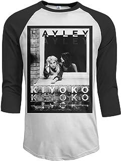 2aef433a4 Againl Hayley Kiyoko Men's Raglan Sleeves Baseball T-Shirts Black