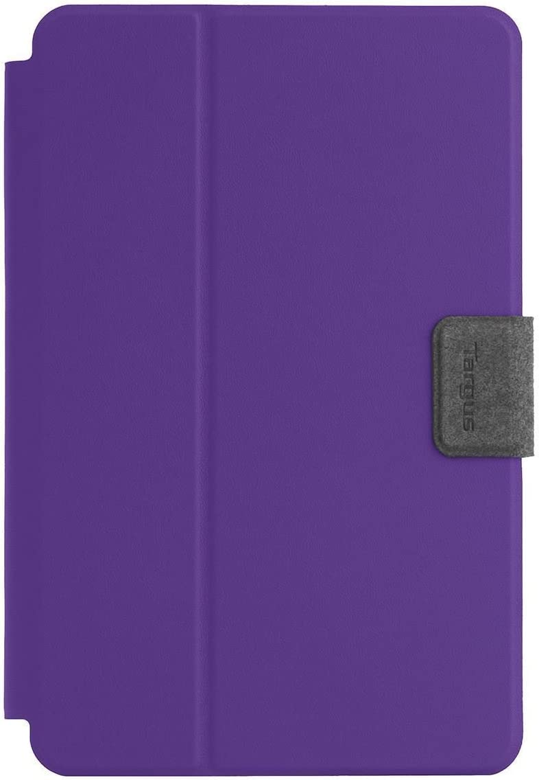 Targus SafeFit Universal 7-8-Inch 360-Degree Rotating Tablet Case, Purple (THZ64307GL)