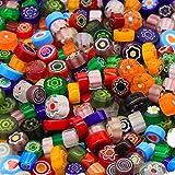 Armena Millefiori Glas Mosaiksteine bunt gemischt 7-10mm 50g