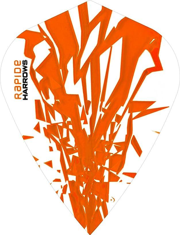 5 x Sets Harrows Rapide Orange Dart Flights Kite