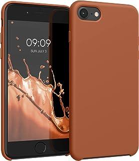 kwmobile telefoonhoesje compatibel met Apple iPhone 7/8 / SE (2020) - Hoesje met siliconen coating - Smartphone case in ka...
