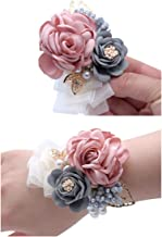 light pink corsages for prom