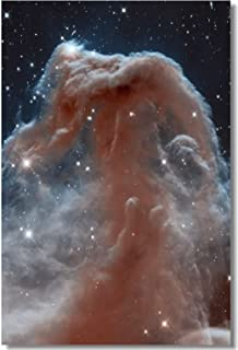 Poster Horsehead Nebula Part of The Sky in The Constellation of Orion The Hunter Deep Space Fabric Prints for Wall 35.5x23.5inch (90x60cm) (003)