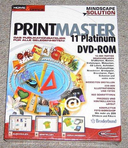 PrintMaster 11.0 Platinum (DVD-ROM)