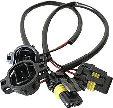 H16 5202 Headlight Connector Fog Light Wiring Harness For LED Fog Lights Headlight Retrofit Work Use(Pack of 2)