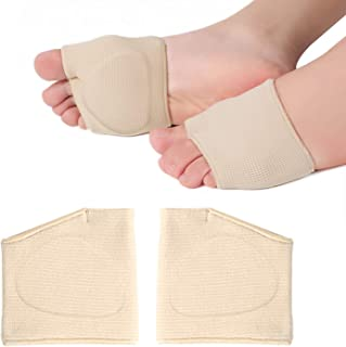 Sponsored Ad - RooRuns Metatarsal Pads Ball of Foot Cushions Metatarsal Foot Pads for Pain Relief,Gel Pads Cushion for Met...