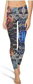 PANDYYOGASS Womens High Waisted Yoga Pants Trippy Magic Mushroom Soft Popular Sports Leggings