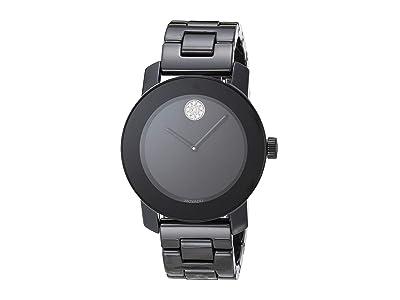 Movado Ceramic 3600535 (Black) Watches
