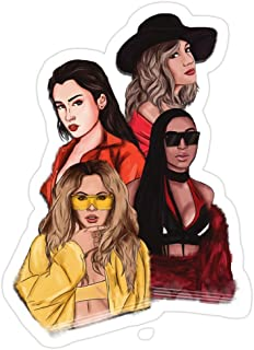 Big Lens store Fifth Harmony Stickers (3 Pcs/Pack)