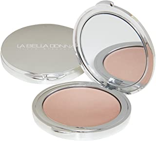 La Bella Donna Illuminating Cream Highlighter Compact, Formulated with Pure & Clean ingredients, Ideal for disguising hyper-pigmentation and other skin imperfections - Candlelight