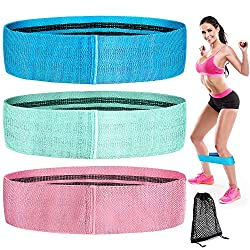LordFord Resistance Hip Bands, Fitness Bands Resistance Bands Training bands in 3 different resistance levels - 600 PCS