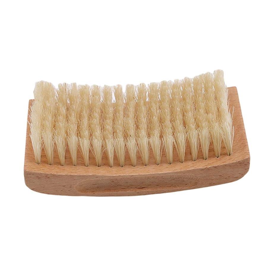 膨らませる石化する自己KLUMA ひげブラシ シェービングブラシ 理容 洗顔 髭剃り 泡立ち 洗顔ブラシ 2#